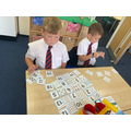 Working hard on our number skills!