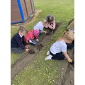 We learn about planting, growing and harvesting in our Key Stage 1 Gardening Club!