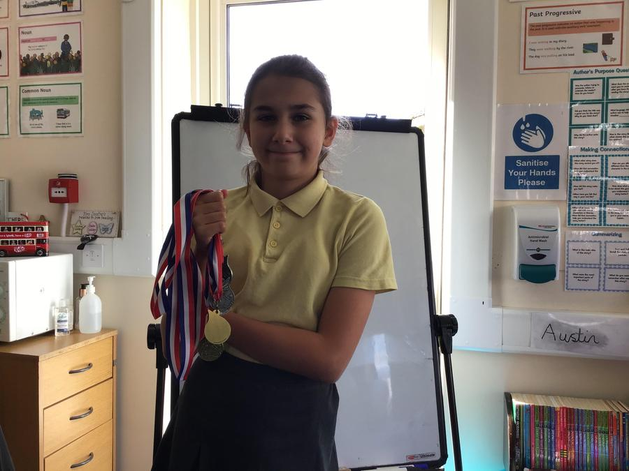 Well done - 3 silvers and 2 golds.