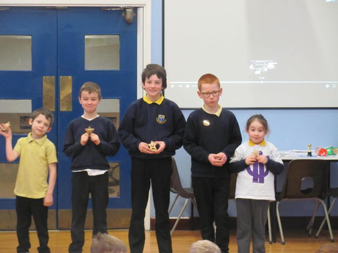 Super Science Star Winners