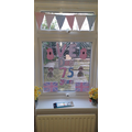 Scarlett's VE Day decorations