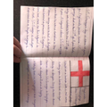Love the St. George's Day work - well done Olivia!