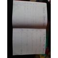 Spelling work - Rebecca