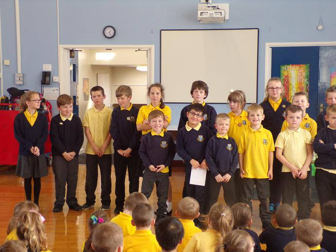 Head Teacher's award winners