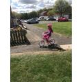 Bike rides in the sunshine