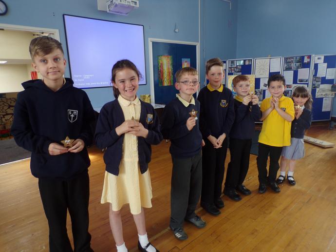 Sportsperson trophy winners