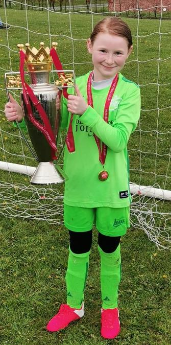 Congratulations to Gracie and her team winning the u9's Russel Foster League.