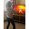 Hanna's Egyptian dancing