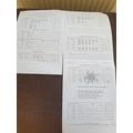 Mason's tally chart work