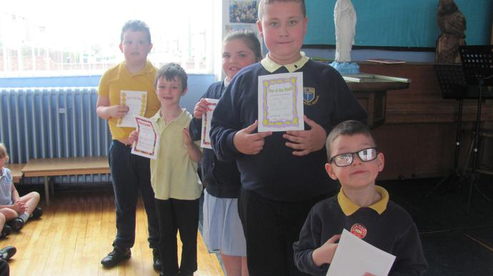 Class 2 and 3 are joint attendance winners.