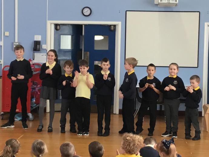 Trophy Awards - Living out our school mission