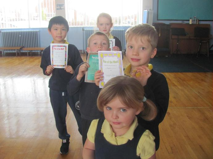 Class 2 and Class 4 were joint attendance winners!