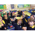 We've got our Golden tickets!
