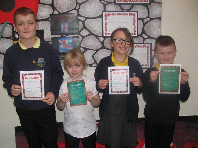 Class 3 are our attendance winners this week!!