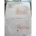 Mason's bar chart work