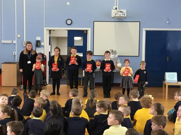 Easter Egg Competition Winners