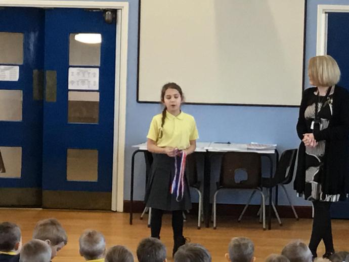 Personal Achievements - super swimming medals!