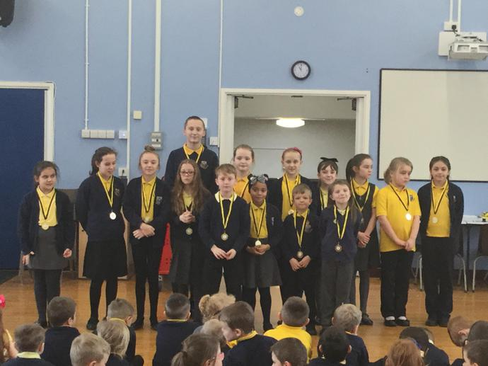 Gymnasts who represented our school this week!