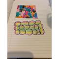 Mia's artwork