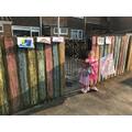 Rainbow fence - I love it!