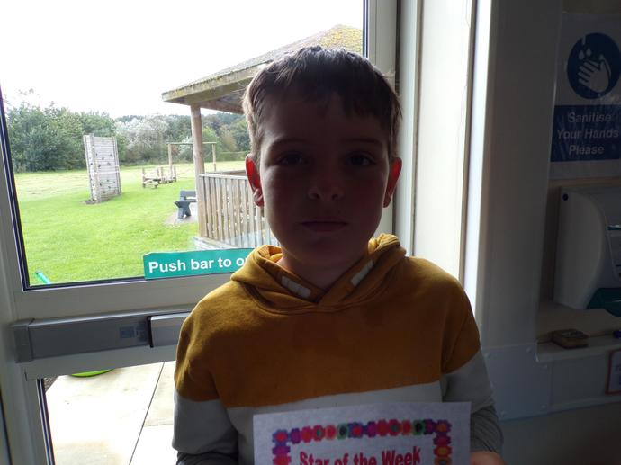 Star of the week and Head teacher award