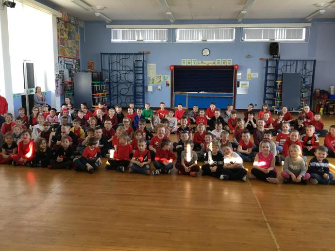 Comic Relief - We raised £229.06. Well done!