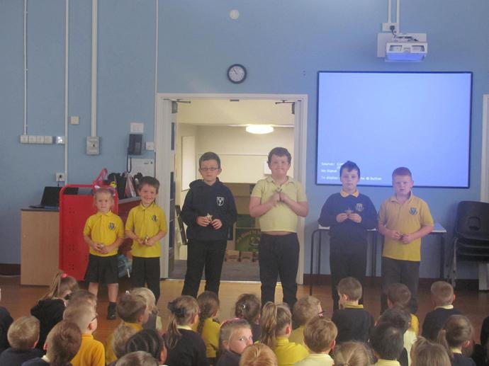 Handwriting Star Winners