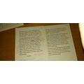 Scarlett's original and edited story openers