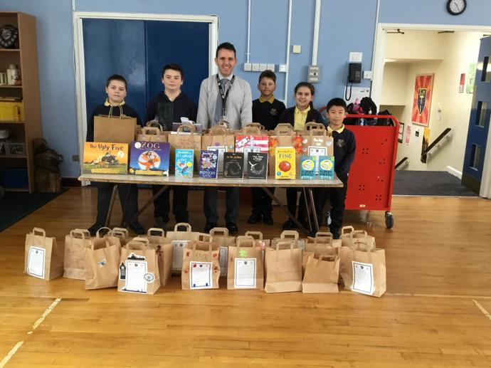 Literacy Group Competition - Book in a Bag