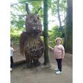 Gruffalo at Hardwick park