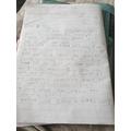 Mason diary entry