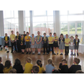 Year group winners
