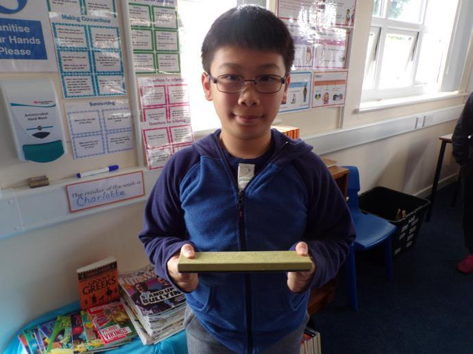 Writer  of the week and Headteacher award