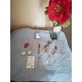 Emily - lovely Mary altar