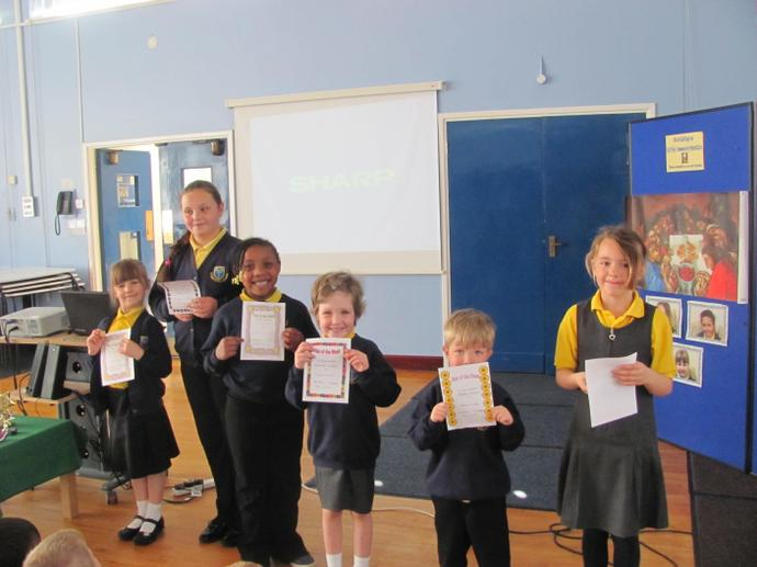 Well done to our stars of the week!