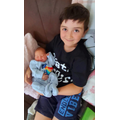 Proud James becoming a big brother to lovely Max