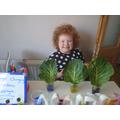 Rainbow Cabbage experiment