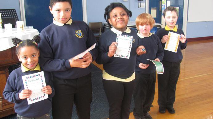 Attendance winners - Class 2 and Class 4