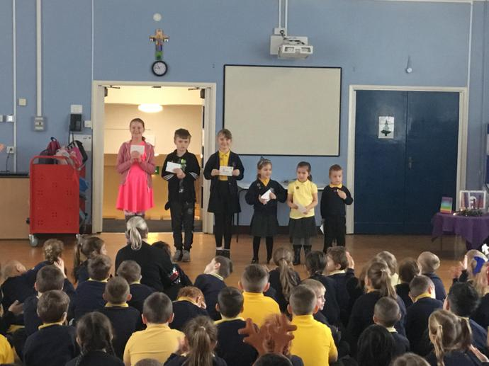 Autumn Term Progress Awards