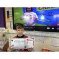 Star of the week and Headteacher's Award