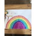 A beautiful rainbow by Elliot