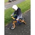 Fresh air and bike riding