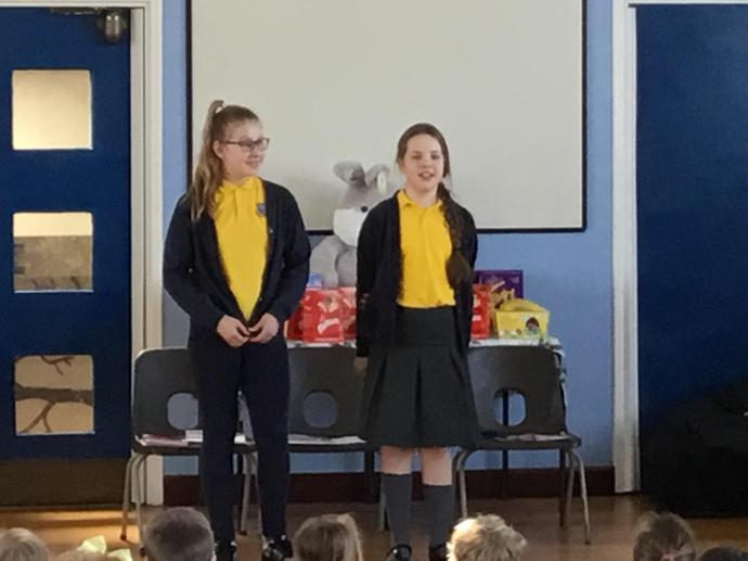 Y6 told us about Bishop Robert's message
