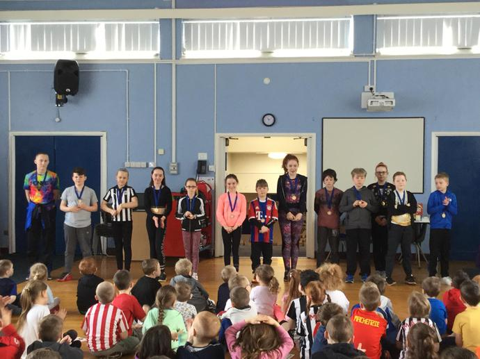 Swimming Gala medal awards