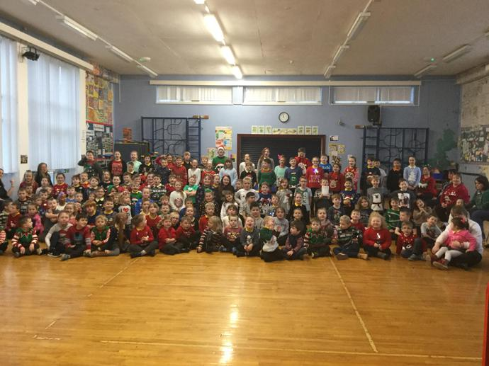 Christmas Jumper Day - We raised £46.50