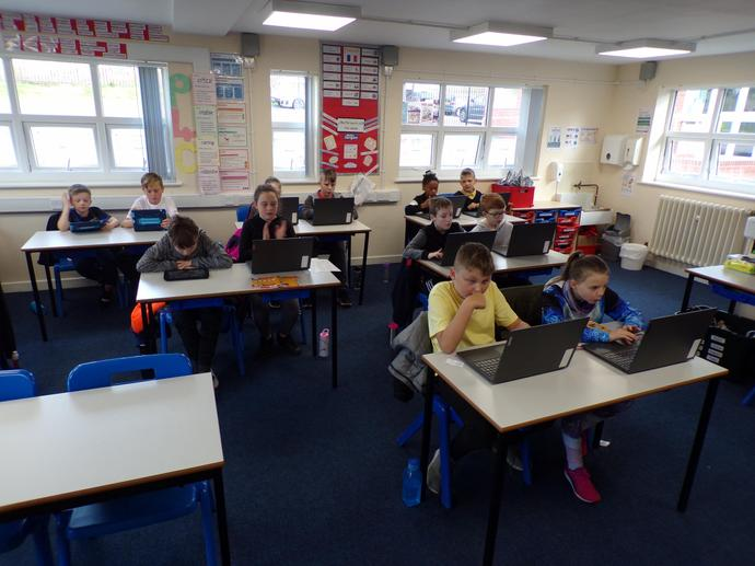 Concentrating on times tables!