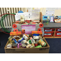 Donations of food items