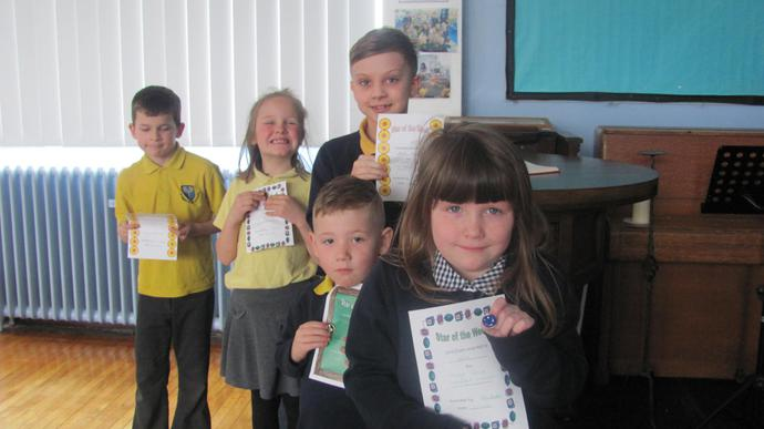 Class 2 are our attendance winners again