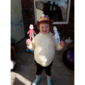 Rebecca's paper dolls and Easter bonnet