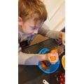 Dylan baking scones